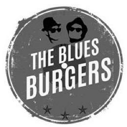 THE BLUES BURGERS trademark