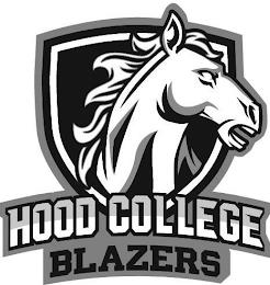 HOOD COLLEGE BLAZERS trademark
