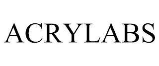 ACRYLABS trademark