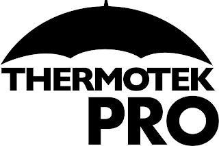 THERMOTEK PRO trademark