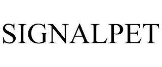 SIGNALPET trademark