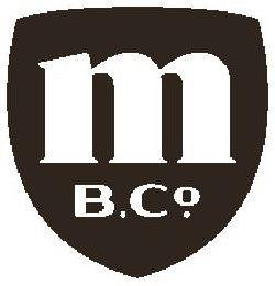 M B.CO. trademark