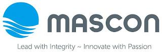 MASCON LEAD WITH INTEGRITY INNOVATE WITH PASSION trademark