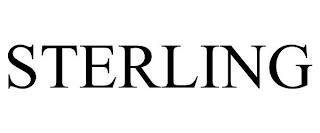 STERLING trademark