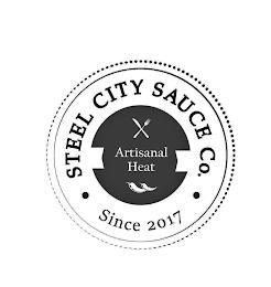 STEEL CITY SAUCE CO. ARTISANAL HEAT SINCE 2017 trademark