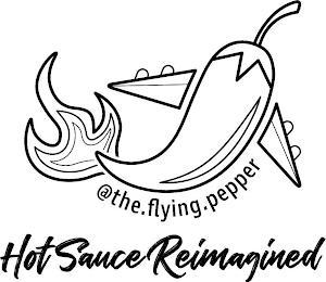 @THE.FLYING.PEPPER HOT SAUCE REIMAGINED trademark