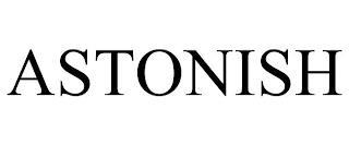 ASTONISH trademark