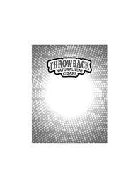 THROWBACK NATURAL LEAF CIGARS trademark