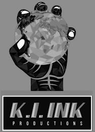 K.I. INK PRODUCTIONS trademark
