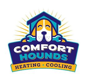 COMFORT HOUNDS HEATING · COOLING trademark