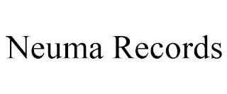 NEUMA RECORDS trademark