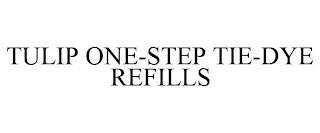 TULIP ONE-STEP TIE-DYE REFILLS trademark