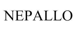 NEPALLO trademark