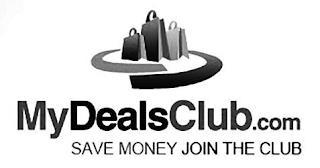 MYDEALSCLUB.COM SAVE MONEY JOIN THE CLUB trademark