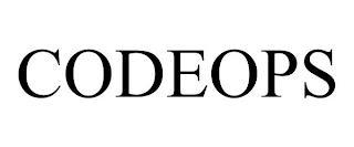 CODEOPS trademark