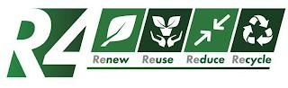R4 RENEW REUSE REDUCE RECYCLE trademark