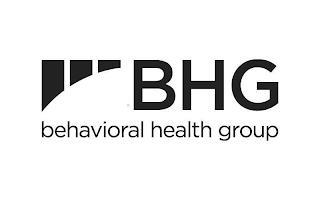 BHG BEHAVIORAL HEALTH GROUP trademark