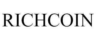 RICHCOIN trademark