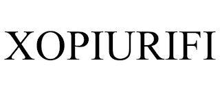 XOPIURIFI trademark