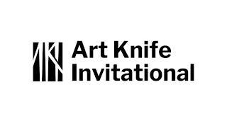 AKI ART KNIFE INVITATIONAL trademark