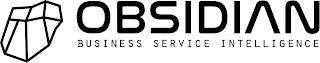 OBSIDIAN BUSINESS SERVICE INTELLIGENCE trademark