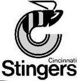 C CINCINNATI STINGERS trademark