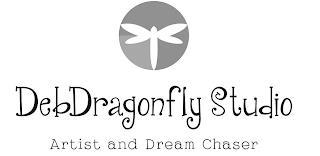 DEBDRAGONFLY STUDIO ARTIST AND DREAM CHASER trademark