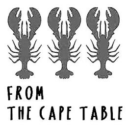 FROM THE CAPE TABLE trademark
