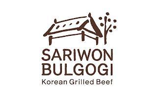 SARIWON BULGOGI KOREAN GRILLED BEEF trademark
