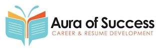 AURA OF SUCCESS CAREER & RESUME DEVELOPMENT trademark