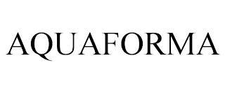 AQUAFORMA trademark