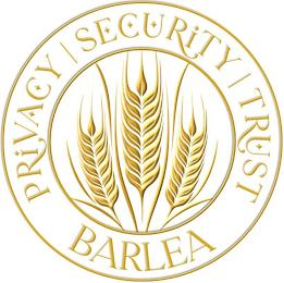PRIVACY SECURITY TRUST BARLEA trademark