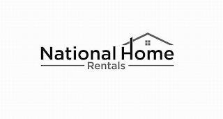 NATIONAL HOME RENTALS trademark