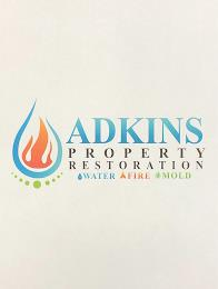 ADKINS PROPERTY RESTORATION WATER FIRE MOLD trademark