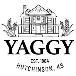 YAGGY EST. 1884 HUTCHINSON, KS trademark