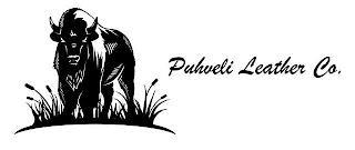 PUHVELI LEATHER CO. trademark