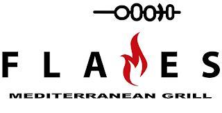 FLAMES MEDITERRANEAN GRILL trademark