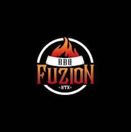 BBQ FUZION HTX trademark