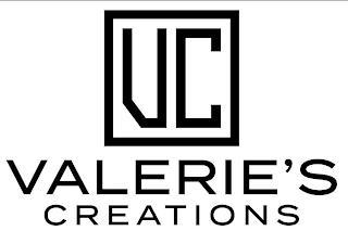 VALERIE'S CREATIONS trademark