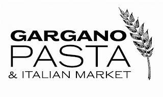 GARGANO PASTA & ITALIAN MARKET trademark