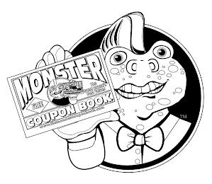 MONSTER COUPON BOOK FREE THE GRAND STRAND'S BEST VALUES WWW.THEMONSTERCOUPONBOOK.COM trademark