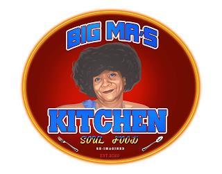 BIG MA'S KITCHEN SOUL FOOD RE-IMAGINED EST 2020 trademark