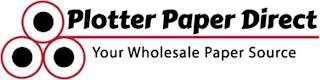 PLOTTER PAPER DIRECT YOUR WHOLESALE PAPER SOURCE trademark