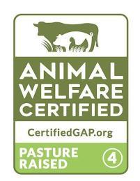 ANIMAL WELFARE CERTIFIED CERTIFIEDGAP.ORG PASTURE RAISED 4 trademark