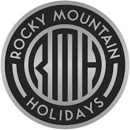RMH ROCKY MOUNTAIN HOLIDAYS trademark