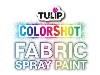 TULIP COLORSHOT FABRIC SPRAY PAINT trademark