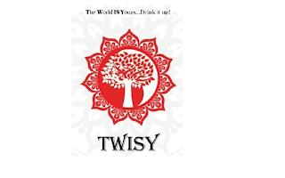 THE WORLD IS YOURS...DRINK IT UP! AND TWISY trademark