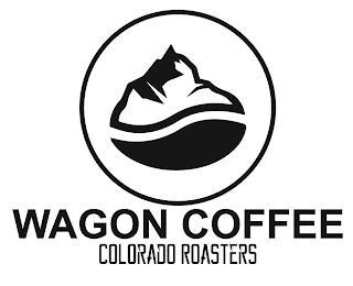 WAGON COFFEE COLORADO ROASTERS trademark